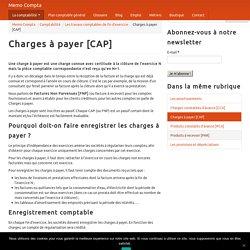 Charges à payer [CAP]