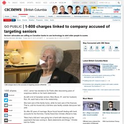 1-800 charges linked to company accused of targeting seniors