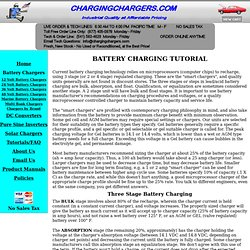 Battery Charging Tutorial | ChargingChargers.com