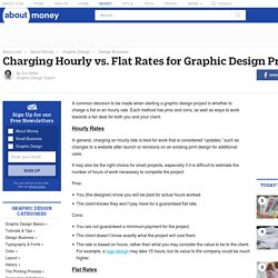 Charging Hourly vs Flat Rates (Graphic Design Projects)