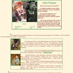 Aline Charigot: La femme de Pierre-Auguste Renoir, la mère de Pierre, Jean et Claude Renoir.