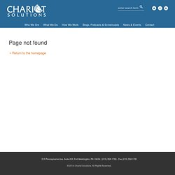 Chariot Solutions: Securing Data in iOS