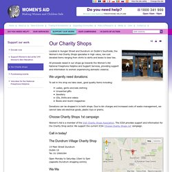 Our Charity Shops » Support our work » Women's Aid - Domestic violence service in Ireland