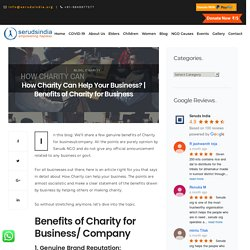 How Charity Can Help Your Business?