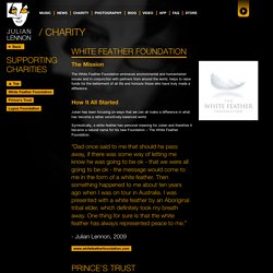 Charity - Official Julian Lennon Website