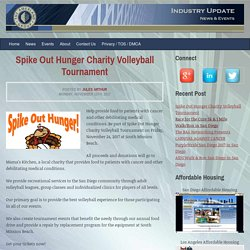 Spike Out Hunger Charity Volleyball Tournament