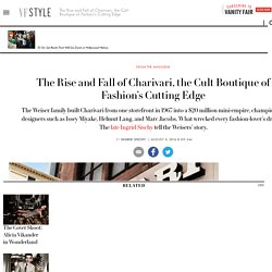 The Rise and Fall of Charivari, the Cult Boutique of Fashion's Cutting