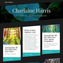 Charlaine Harris Official Website