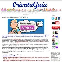 Vídeo-charlas de los Grados de la Univ. de Murcia.