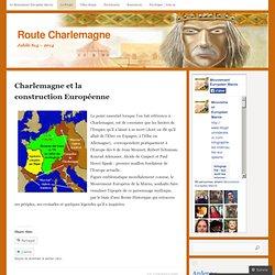 Charlemagne et la construction Européenne