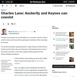 Charles Lane: Austerity and Keynes can coexist