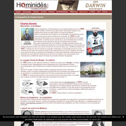 Charles Darwin - Biographie - Dossiers
