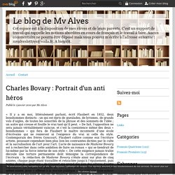 Charles Bovary : Portrait d'un anti héros - Le blog de Mv Alves
