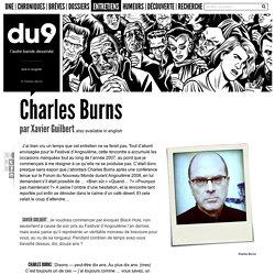 Entretien: Charles Burns