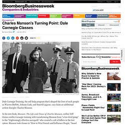 Charles Manson's Turning Point: Dale Carnegie Classes