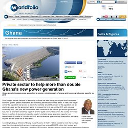 Ghana - Charles Darku, CEO of the Ghana Grid Company, GRIDCo