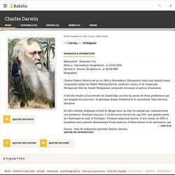 Charles Darwin (auteur de L'Origine des espèces)