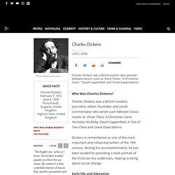 Charles Dickens - Books, Children & Quotes