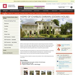 Home of Charles Darwin (Down House)