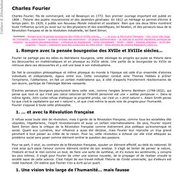 Charles Fourier - Culture & Révolution