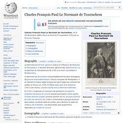Charles François Paul Le Normant de Tournehem