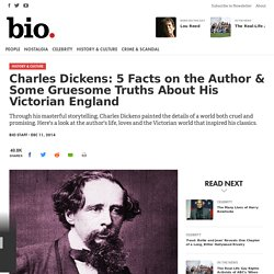 Charles Dickens: 5 Facts on the Author & Some Gruesome Truths About His Victorian England