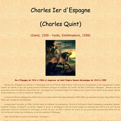 Charles Ier d'Espagne (Charles Quint)