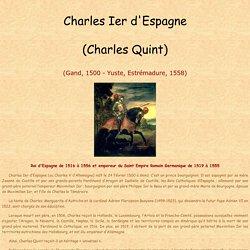 Charles Ier d'Espagne (Charles Quint)