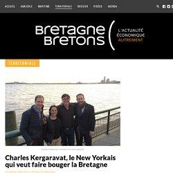 Charles Kergaravat, le New Yorkais qui veut faire bouger la Bretagne - Bretagne Bretons
