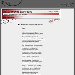 """Leconte de Lisle, """"Midi"""""""