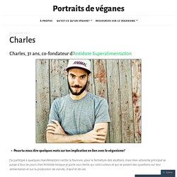 Portraits de véganes