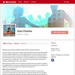 Kam Charles - my profile -alivenotdead.com