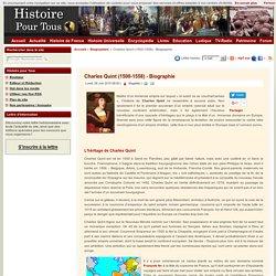 Charles Quint (1500-1558) - Biographie