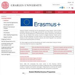 Charles University - Erasmus+