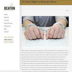 North Charleston Criminal Attorney- Deatonlaw.net