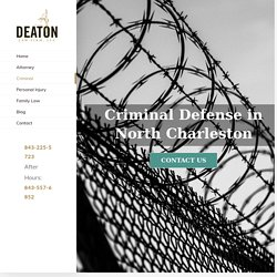 North Charleston Criminal Defense Attorney