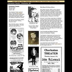 Charleston Theatre, Charleston, SC