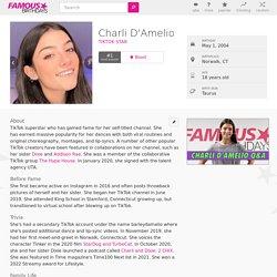 Charli D'Amelio - Bio, Family, Trivia