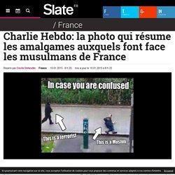 Charlie Hebdo: la photo qui résume les amalgames auxquels font face les musulmans de France