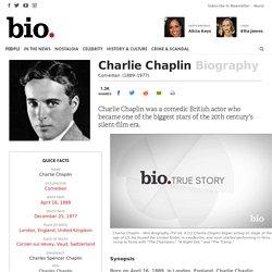 Charlie Chaplin - Biography - Comedian