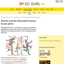 Roald Dahl's Charlie and the Chocolate Factory lesson plans