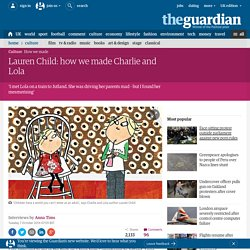 Lauren Child: how we made Charlie and Lola