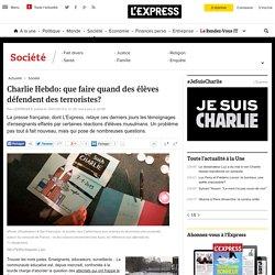 Charlie Hebdo: que faire quand des élèves défendent des terroristes?