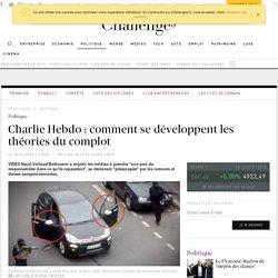 Charlie Hebdo: comment se développent les théories du complot