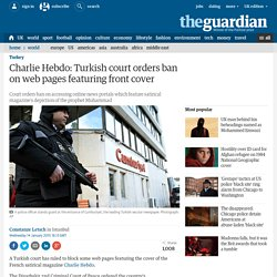 Charlie Hebdo: Turkey will block web pages featuring front cover