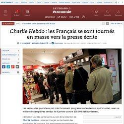 Charlie Hebdo: les Français se sont tournés en masse vers la presse écrite