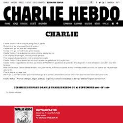Le dessin satirique expliqué aux cons - Charlie Hebdo
