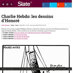 Charlie Hebdo: les dessins d'Honoré