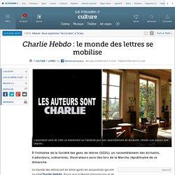 Charlie Hebdo : le monde des lettres se mobilise