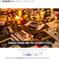 Charlie Hebdo and the security state